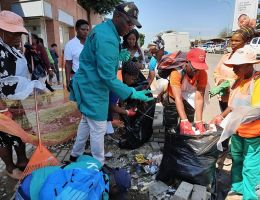 KSD ON A DRIVE TO CLEAN-UP ITS TOWNS